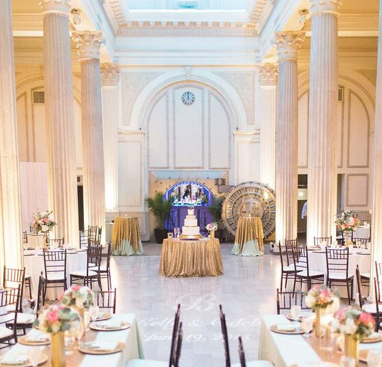Treasury On The Plaza Wedding Venue