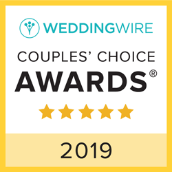Weddingwire Couples' Choice Award 2019