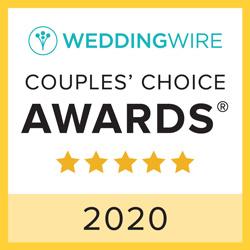 Weddingwire Couples' Choice Award 2020